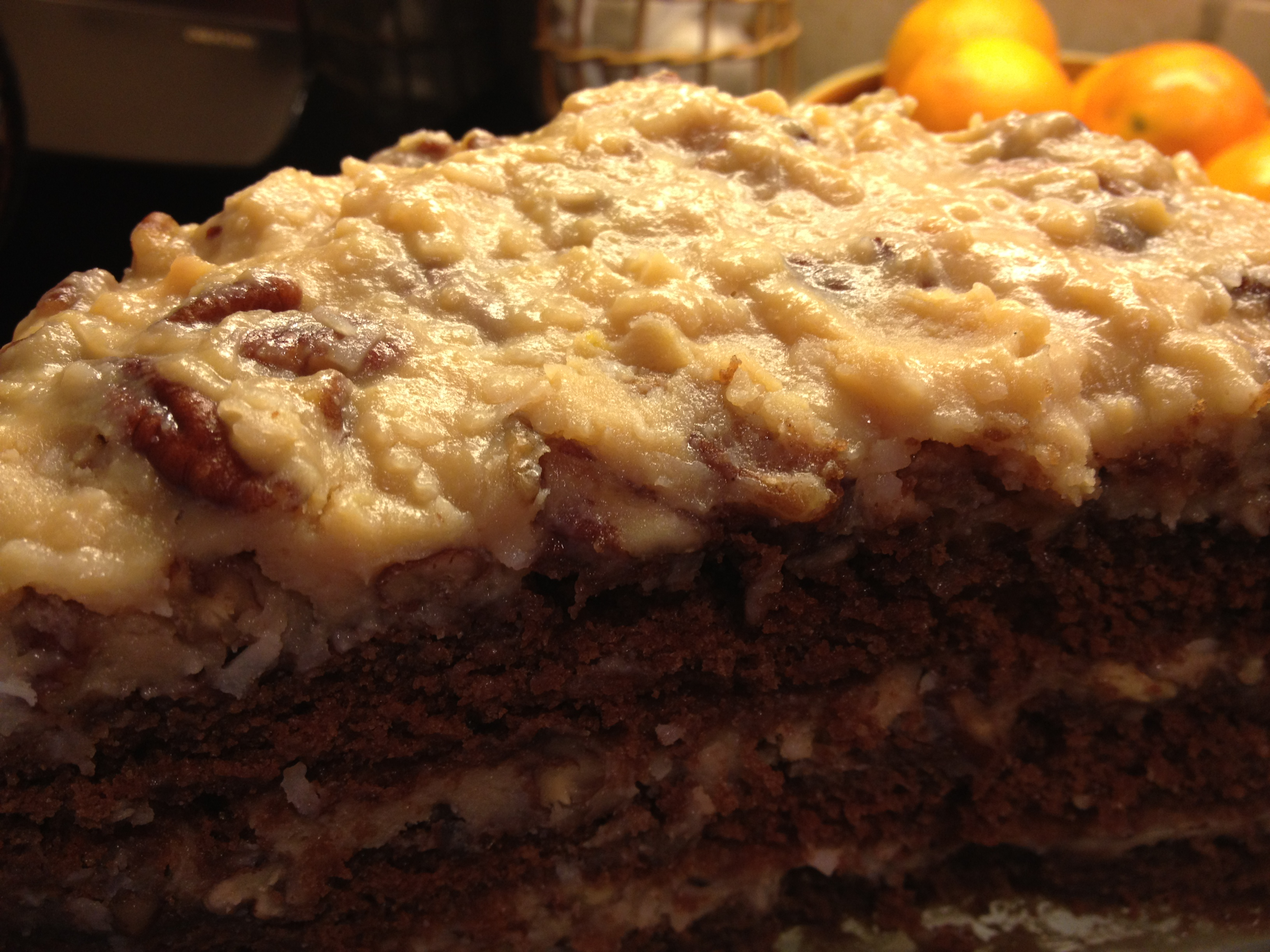 Southern Living Chocolate Zucchini Cake