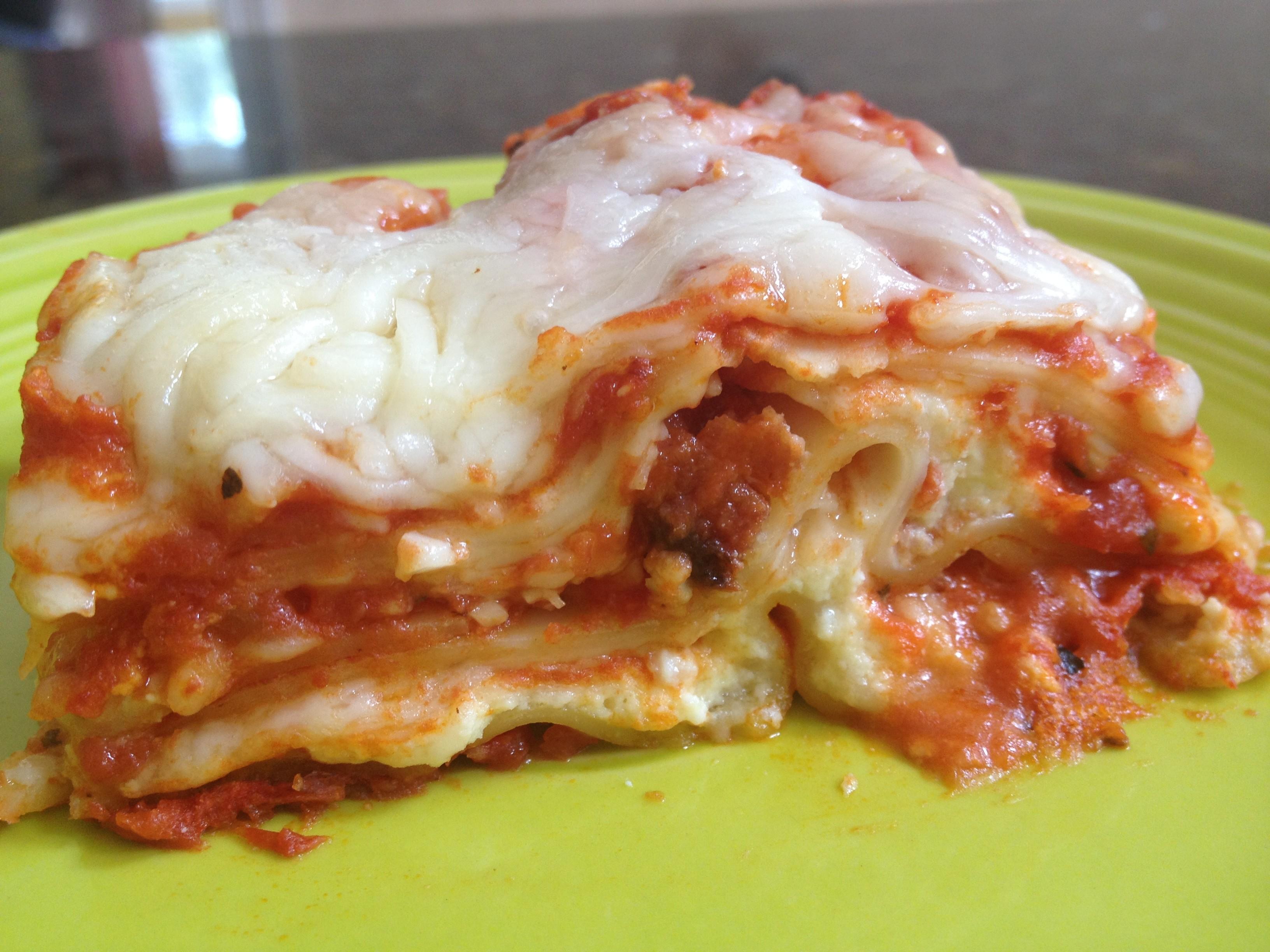 Easy lasagna recipe for dummies