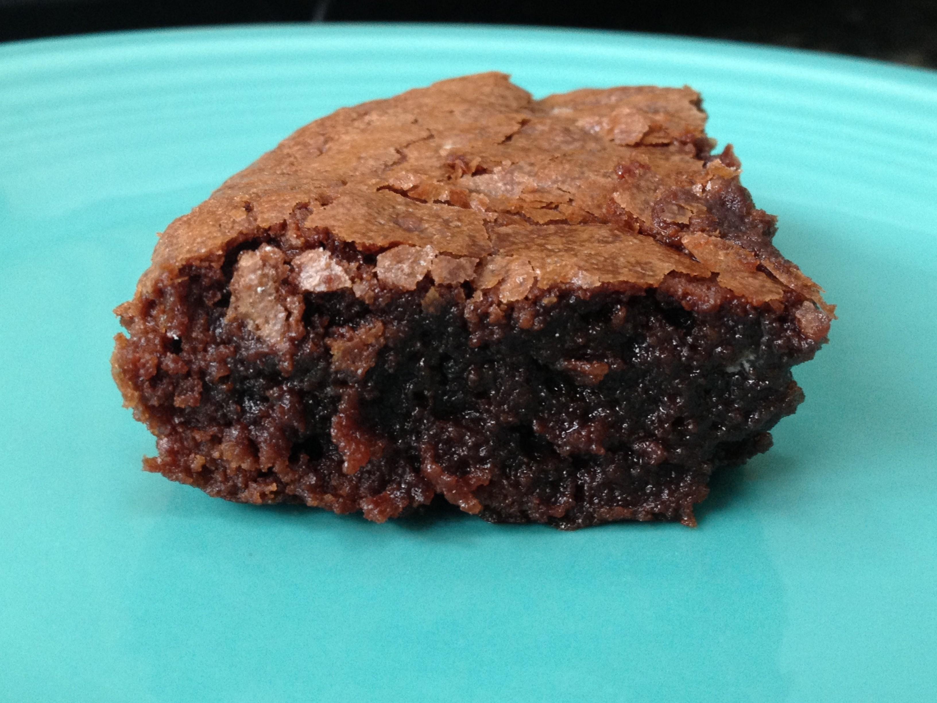 Blue apron brownies - Advertising